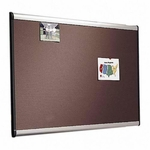 Quartet Tight Weave Fabric Board - 3' x 2' - Aluminum Frame [QRTB443A-FS-SP]