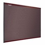 Quartet Tight Weave Fabric Board - 3' x 2' - Mahogany Frame [QRTB443M-FS-SP]