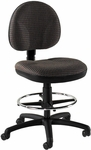 Quick Ship Cheetah Armless Drafting Task Chair [590-FS-HPF]