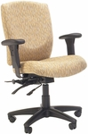 Quick Ship Cougar Management Swivel Chair with Dual Function Mechanism [627-FS-HPF]