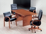 Quick Ship Forte Rectangular Conference Table [CVCT72-FS-HPF]
