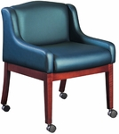 Quick Ship HiLeg Conference Chair with Low Arms [8704-FS-HPF]