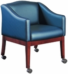 Quick Ship HiLeg Conference Chair with Sloped Arms [8804-FS-HPF]