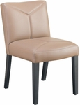 Quick Ship Leader Executive Y Stitch Designed Side Chair [164-FS-HPF]