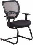 Quick Ship NexStep Guest Chair with Mesh Back and Fabric Seat [759-FS-HPF]