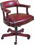 Quick Ship Traditional Series Captain's Management Chair [4017-FS-HPF]