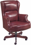 Quick Ship Traditional Series Judges Executive Swivel Chair [4178-FS-HPF]