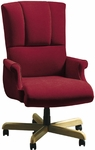 Quick Ship Trifecta Executive Swivel Chair with Fully Upholstered Arms [1641-FS-HPF]