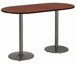 Racetrack Bar Height Tables