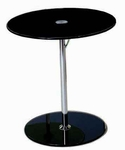 Radinka Side Table in Black Printed Glass [21191-FS-ERS]