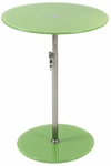 Radinka Side Table in Green Printed Glass [21197-FS-ERS]