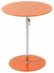 Radinka Side Table in Orange Printed Glass [21198-FS-ERS]