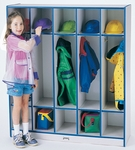 Rainbow Accents Coat Locker - 5 Sections [2681JCWW003-JON]