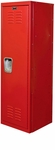 Rally Red Kids Standard Locker Unassembled- 15''W x 15''D x 48''H [HKL151548-1RR-HAL]