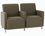 Ravenna Series 2 Seats with Center Arm [Q2403G8-FS-RO]