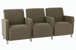 Ravenna Series 3 Seats with Center Arms [Q3403G8-FS-RO]