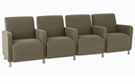 Ravenna Series 4 Seats with Center Arms [Q4403G8-FS-RO]