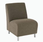 Ravenna Series Armless Guest Chair [Q1402G8-FS-RO]