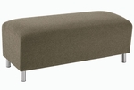 Ravenna Series Backless Loveseat Bench [Q1005B8-FS-RO]