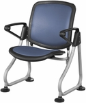 Ready Link Row Starter Chair - Blue [K212-BLUE-SLV-MFO]