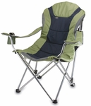 Reclining Camp Chair - Sage Green and Dark Gray [803-00-130-000-0-FS-PNT]