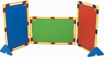 Rectangular Rainbow Playpanel Set - 31''L x 48''W [CF900-539-FS-CHF]