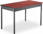Rectangular 24'' D x 48'' W Utility Table - Cherry [UT2448-CHY-MFO]