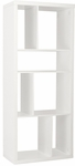 Reid Shelving Unit/Media Stand in White [09822WHT-FS-ERS]