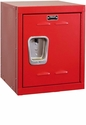 Relay Red Kids Mini Locker Unassembled - 15''W x 15''D x 24''H