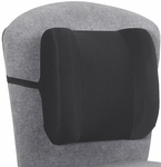 Remedease® Anti Allergenic Foam High Profile Backrest - Set of Five - Black [71491-FS-SAF]