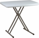 Work Smart Multi Purpose Adjustable Height Personal Tray Table - Set of 4 [BT244-OS]