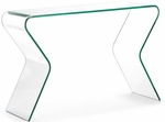 Respite Console Table with Clear Glass [404130-FS-ZUO]