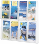 Reveal™ Eight Pamphlet Thermoformed Display - Clear [5608CL-FS-SAF]