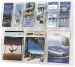 Reveal™ Three Magazine and Six Pamphlet Thermoformed Display - Clear [5605CL-FS-SAF]