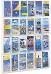 Reveal™ Twenty-Four Pamphlet Thermoformed Display - Clear [5601CL-FS-SAF]