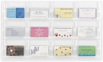 Reveal™ Twelve Business Card Thermoformed Display - Clear [5618CL-FS-SAF]