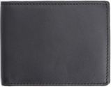 RFID Blocking 100 Step Wallet - Top Grain Nappa - Black