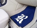 Rice University 2-piece Carpeted Car Mats 18'' x 27'' [5303-FS-FAN]