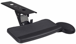 23''W x 11''D Right Handed Metal Keyboard Tray - Black [KBARTR-FS-REG]