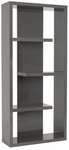 Robyn Shelving Unit in Gray [09821GRY-FS-ERS]