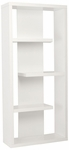 Robyn Shelving Unit in White [09821WHT-FS-ERS]