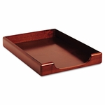 Rolodex Wood Tones Legal Desk Tray,  Wood,  Mahogany [ROL23360-FS-NAT]