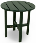 POLYWOOD® Round 18'' Side Table - Green [RST18GR-FS-PD]