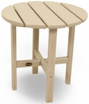 POLYWOOD® Round 18'' Side Table - Sand [RST18SA-FS-PD]