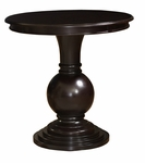 Round Accent Table in Espresso [809-350-FS-PO]