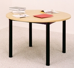 Round Library Table [GLTR4825-IRO]