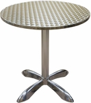 Round Aluminum Indoor Table [AL30-SAT]