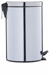 Round Step-On Trash Can - 12.5 Quarts [4729-FS-OIA]