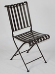 Rounded Metal Folding Chair [55582-FS-DCON]