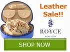 Royce Leather Gift Sale!! Save by